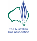 Gas association au logo
