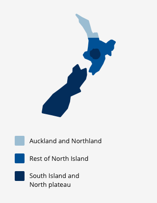 New Zeland Map